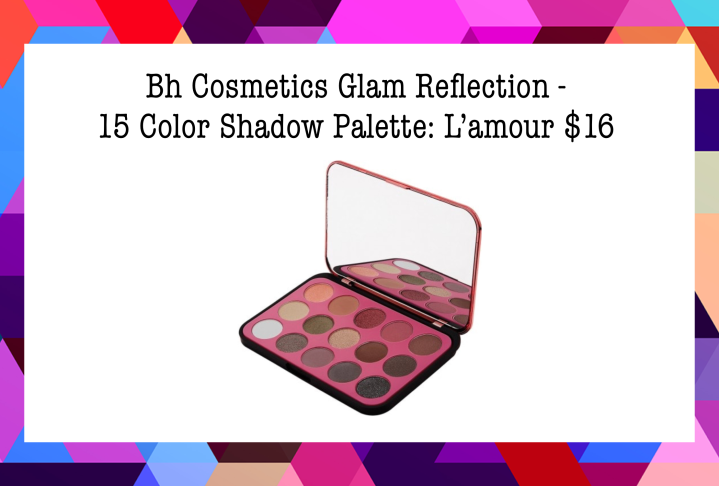 Bh Cosmetics Glam Reflection - 15 Color Shadow Palette: L'amour $16