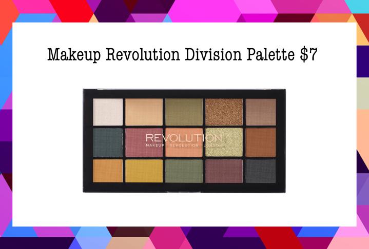 Ulta's Makeup Revolution Eyeshadow Palette