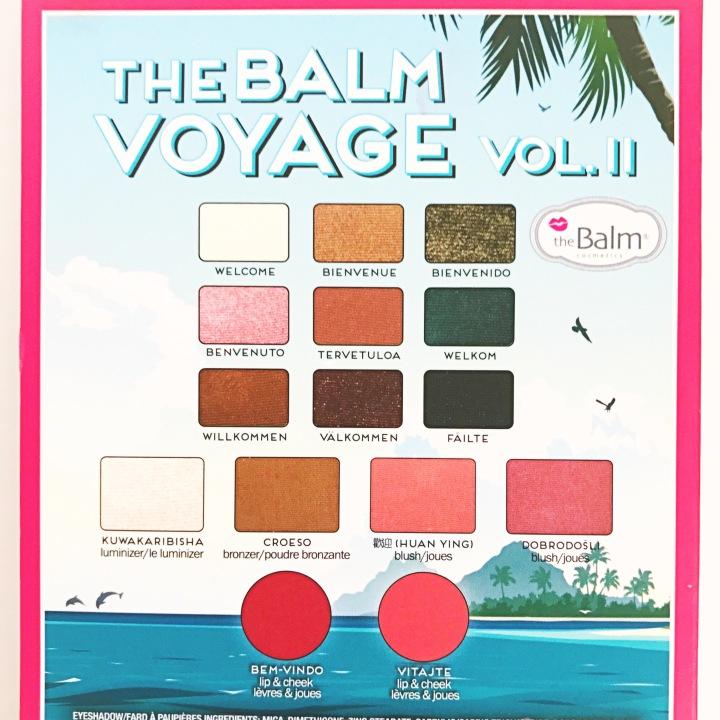 backside photos of TheBalm Voyage® Vol.2 $38.50 2018
