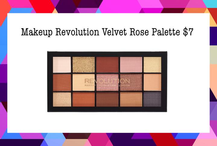 Best Drugstore Eyeshadow Palettes Under $20  Makeup Revolution Velvet Rose Palette $7
