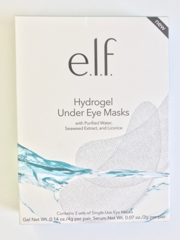 Elf hydragel Under Eye Mask Product Review by Beauty explore online