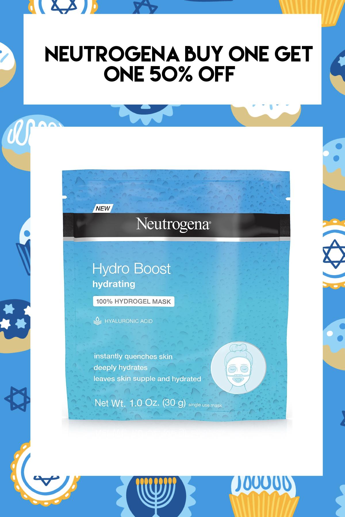 NEUTROGENA Hydro Boost Hydrating Hydrogel Mask
