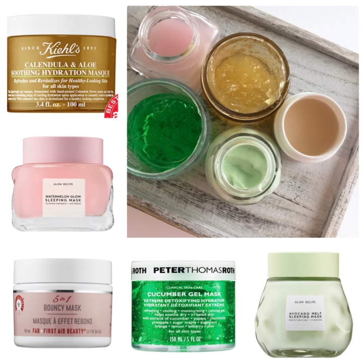 Beauty Explore Online 2018 Favorite Masks