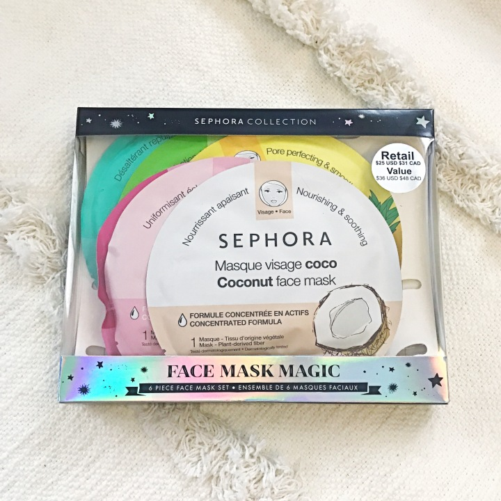 SEPHORA COLLECTION Face Mask Magic $25 ($36 Value)