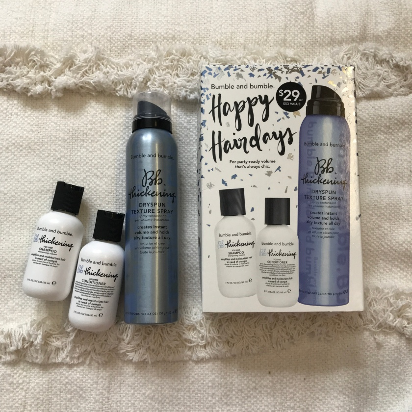 BUMBLE AND BUMBLE Happy Hair days - Thickening Set 2018 Unboxing