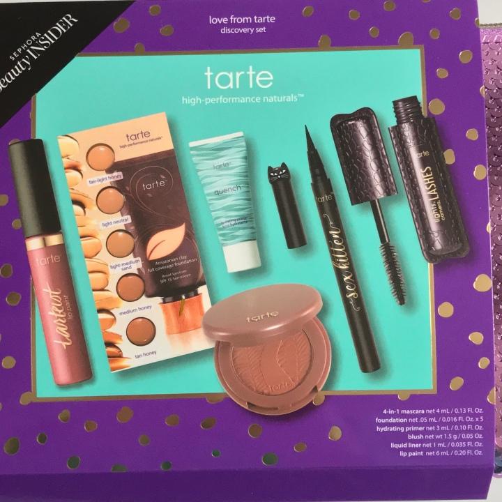Sephora Tarte Rewards Bazaar VIB ROUGE