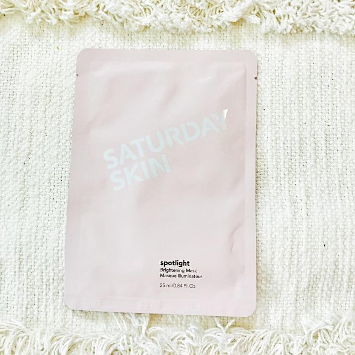 "SEPHORA FAVORITES set ""Soko To Tokyo"" Saturday Skin Spotlight Brightening Mask"