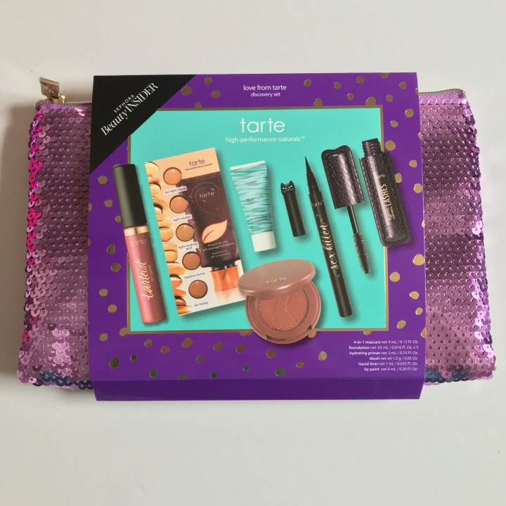 TARTE LOVE FROM TARTE DISCOVERY SET 750 Point VIB ROUGE REWARDS BAZAAR UNBOXING - Holidays 2018