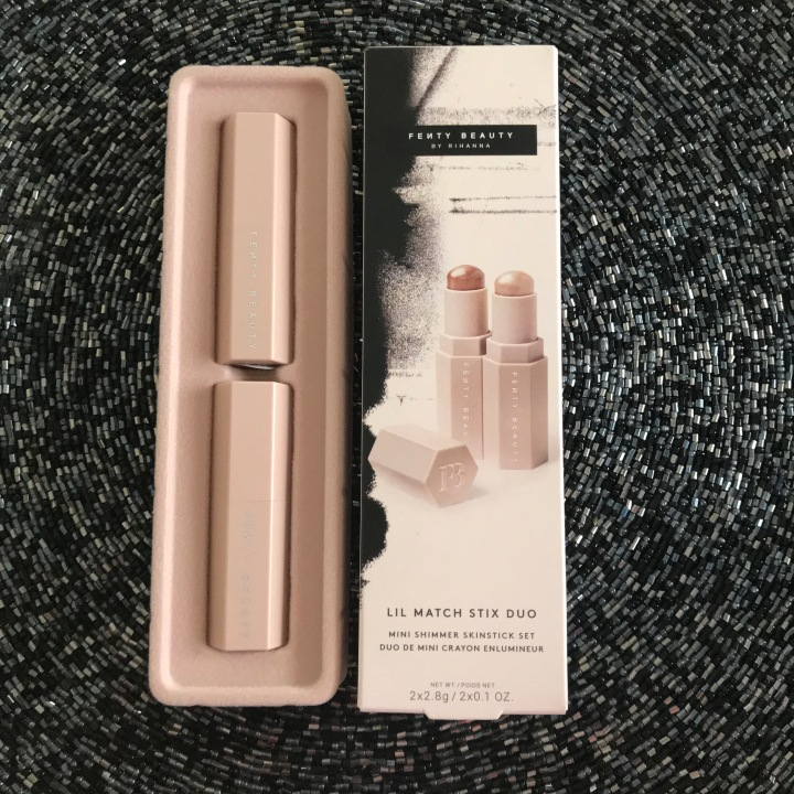 Fenty Beauty Shimmer Sticks in Sinamon and Starstruck Unboxing
